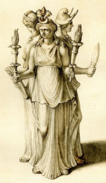 hekate goddess of the crossroads